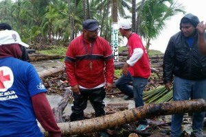 Orkanen Irma Domenikanske Republik tilpasset